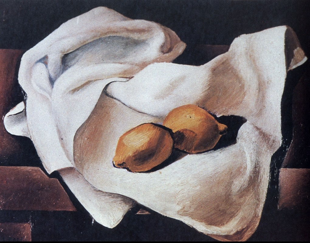 Still Life with Two Lemons 1926