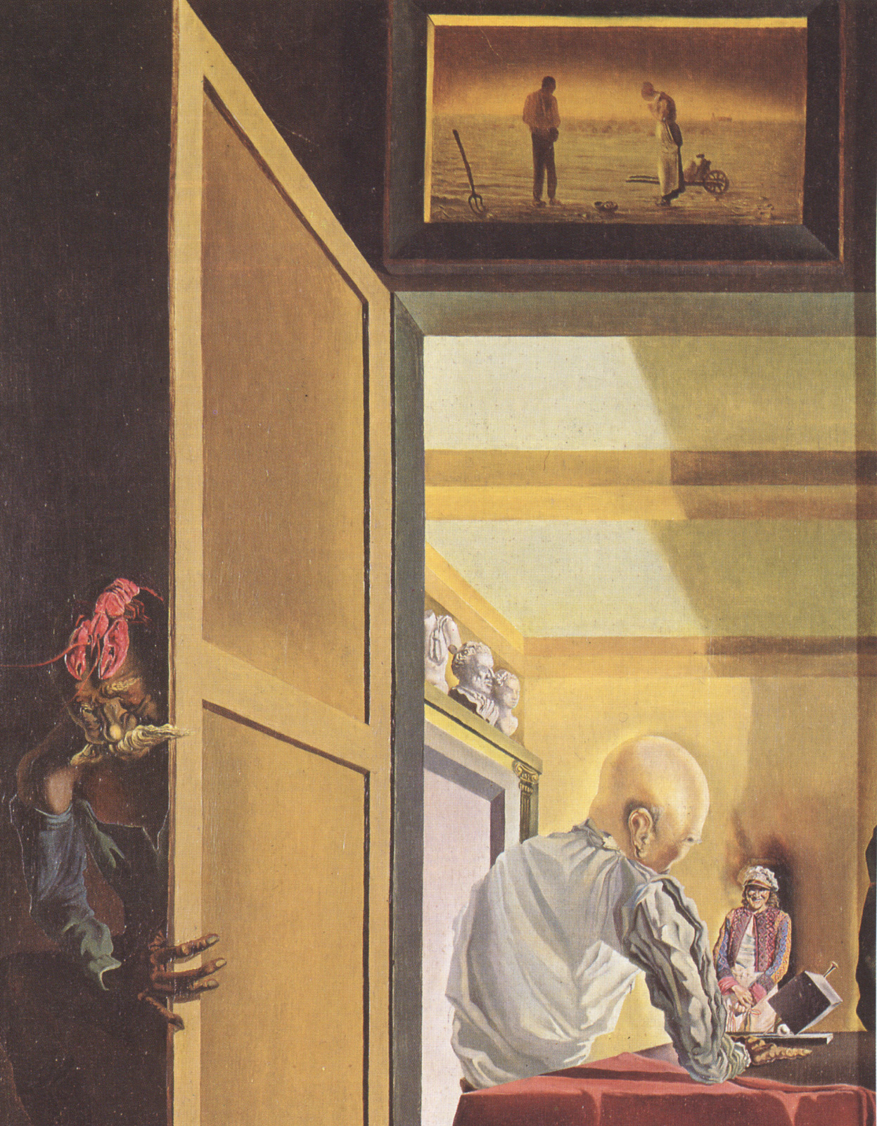Salvador Dali - Gala and The Angelus of Millet Before the Imminent ...