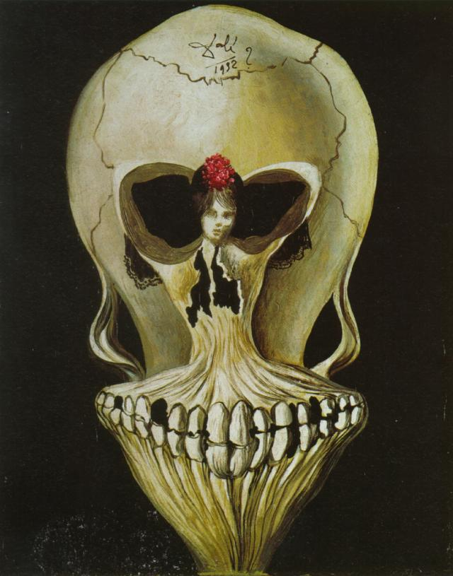 Ballerina in a Death's Head 1939