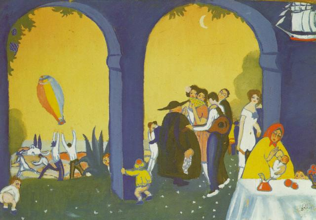 Festival in Figueras 1921