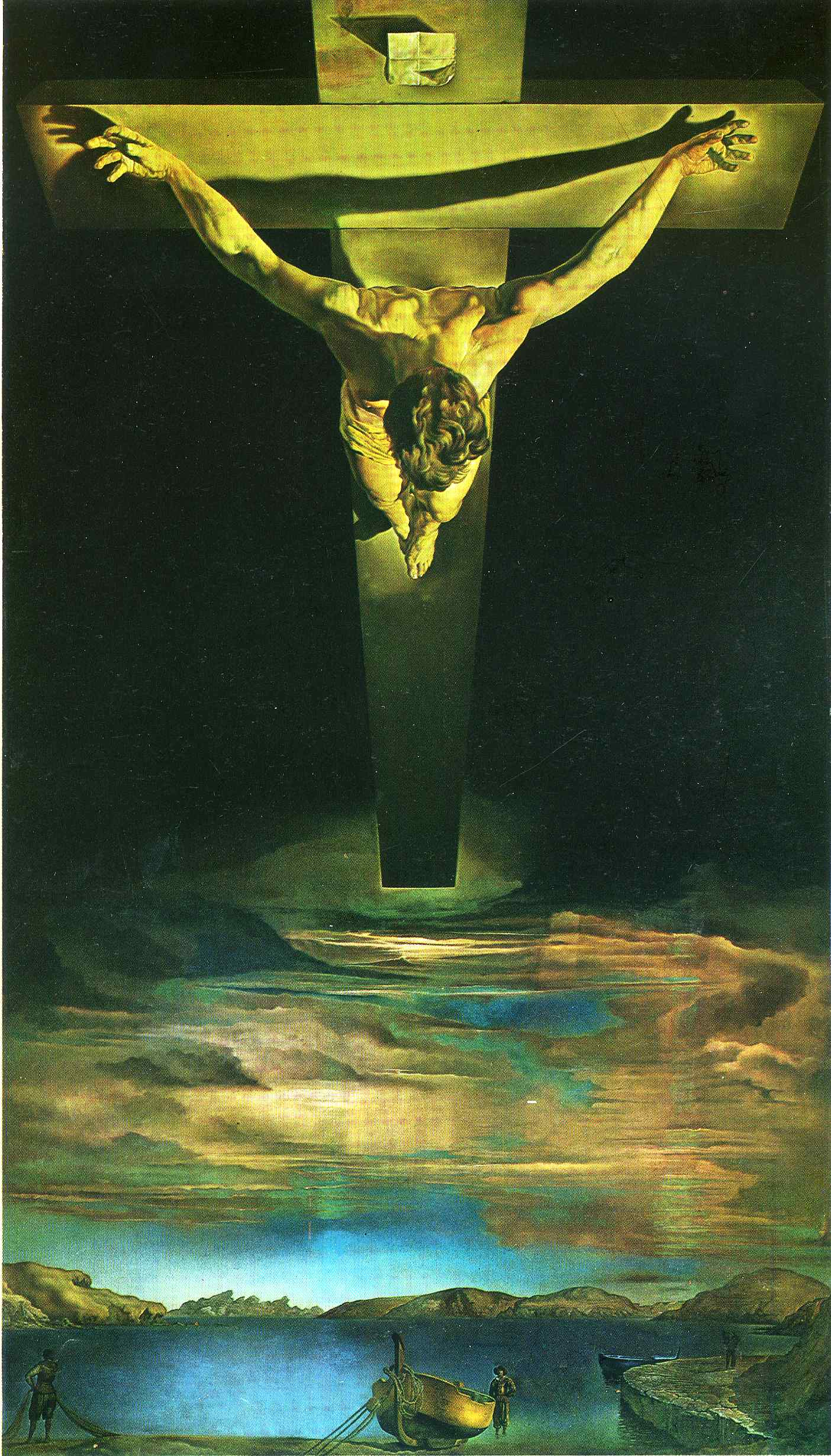 Christ of St. John of the Cross 1951
