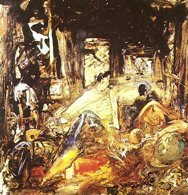 Mohammed's Dream. Homage to Fortuny 1961