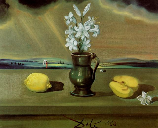 Still Life with Lilies 1963