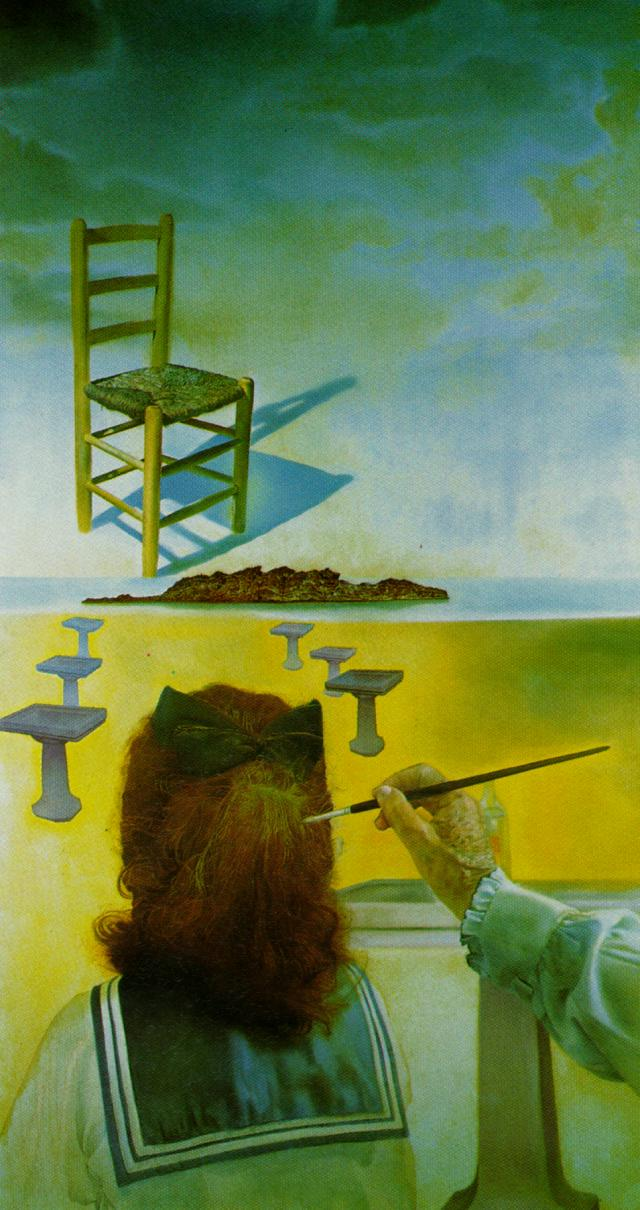 The Chair, stereoscopic work, right component 1975