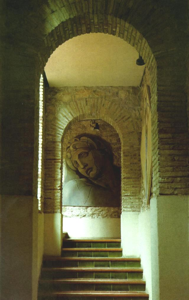 Aurora's Head, After Michelangelo, detail of a Figure on the Grave of Lorenzo Di Medici 1977