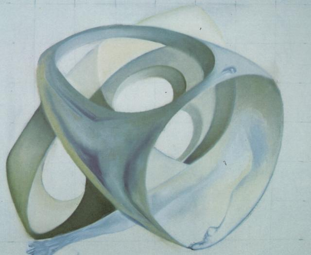 Topological Contortion of a Female Figure 1983
