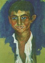 Portrait of a Gipsy 1919