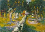 Orchard at Llane. Cadaques 1920