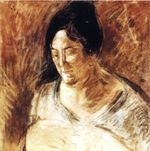 Portrait of the Artist's Mother 1920