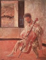 Portrait of the Cellist Ricard Pichot 1920