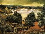 Olive Trees. Landscape at Cadaques 1922